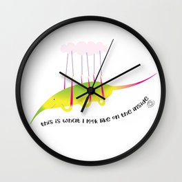on the inside : my own cloud Wall Clock