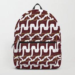 red Dala horse design Backpack