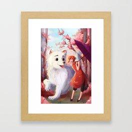 Kagura & Sadaharu Framed Art Print