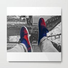 Rooftop shoes Metal Print