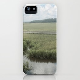Peaceful Marshy Meadow iPhone Case
