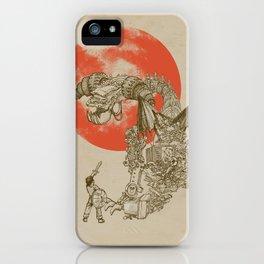 Junkyard Dragon  iPhone Case
