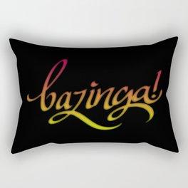 Bazinga! Rectangular Pillow