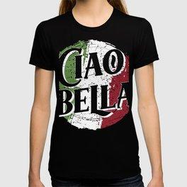 Ciao Bella Italy Flag design, Italian Tee product T-shirt