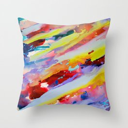 My Happiness  Throw Pillow