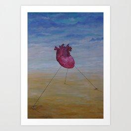 Sacred Heart 2014 Art Print
