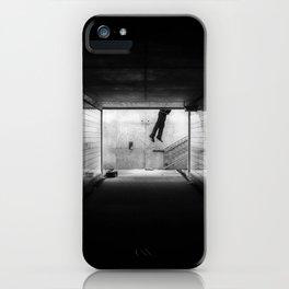 Flying Humanoid iPhone Case