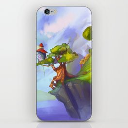 -Tree-Lighthouse- iPhone Skin