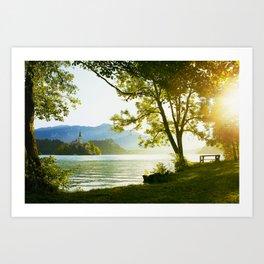 Bled Lake, Slovenia Art Print