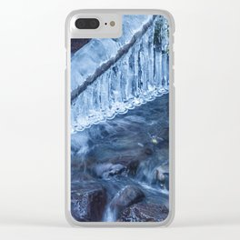 Ice and Water, No. 3 Clear iPhone Case