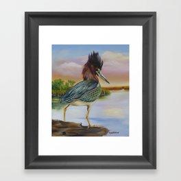 Bayou Shuffle Framed Art Print