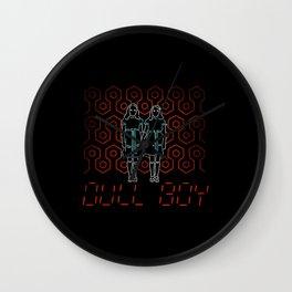 Dull Boy Wall Clock
