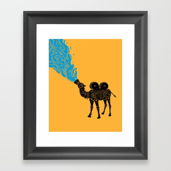 Mirage Framed Art Print