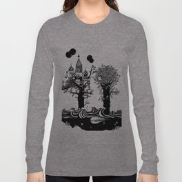 The Whale and The Balloons Long Sleeve T-shirt