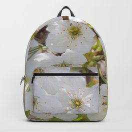 Tiny White Flowers Backpack