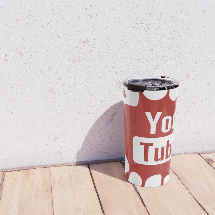 youtube youtuber - best designf or YouTube lover Travel Mug