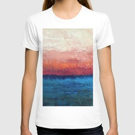 Abstract painting, Ocean T-shirt
