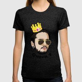 Queen T - Black Text T-shirt