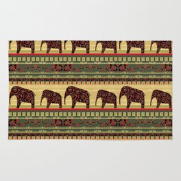African motifs. Rug