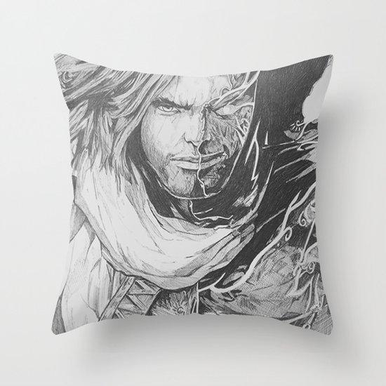 Prince Of Pen Throw Pillow