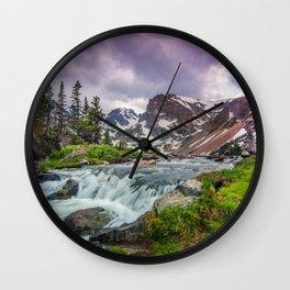 Lake Isabelle Wall Clock