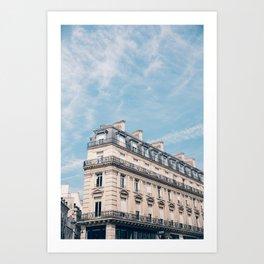 The Beautiful Buildings of Paris  Art Print