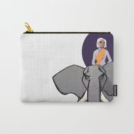 Queen B Carry-All Pouch