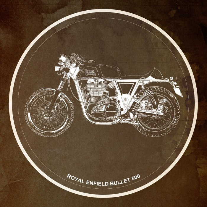 Royal Enfield motorcycle quote - For some there's therapy Comforters