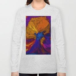 Volcano Goddess Long Sleeve T-shirt