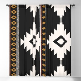 Pueblo in Sienna Blackout Curtain