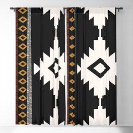 Pueblo in Sienna Blackout Curtain