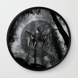 THE NIGHTFALL Wall Clock