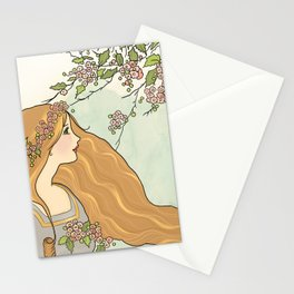 Guinevere Had Golden Hair Stationery Cards