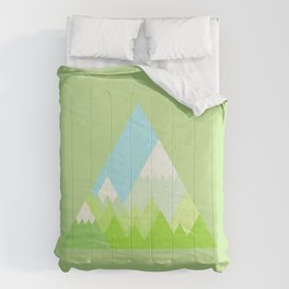 national park geometric pattern Comforters