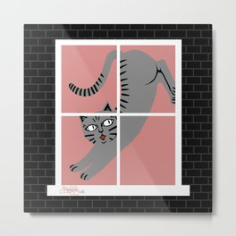 Morgana, House of Cats Metal Print