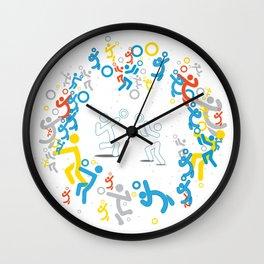 PLAY VOLLEY! Wall Clock