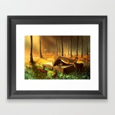 A safe place where you can go Framed Art Print