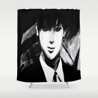 kpop Shower Curtains featuring Assassin Tao by Ahri Tao