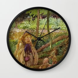 Eleanor Fortescue-Brickdale - The introduction Wall Clock