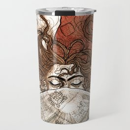 Mask centipede Travel Mug