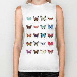 Butterflies Biker Tank