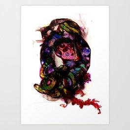 Demure Art Print
