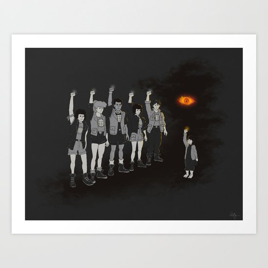 One ring ruins the group Art Print