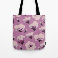magnolia Tote Bags featuring Magnolia by Georgiana Paraschiv
