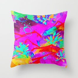 The hills have syle Throw Pillow