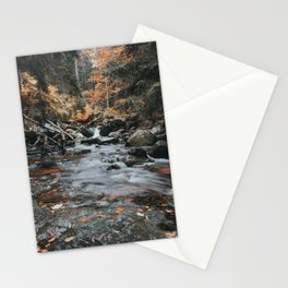 Autumn Creek - Landscape and Nature Photography Stationery Cards