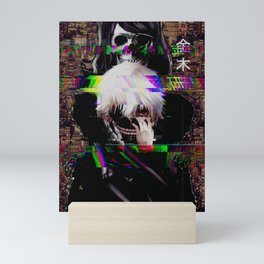 Ken Kaneki Tokyo Ghoul Glitch Mini Art Print
