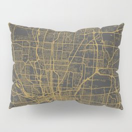 Columbus map Pillow Sham