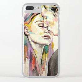 Stolen Kiss Clear iPhone Case