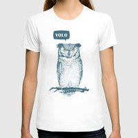 yolo T-shirts featuring YOLO by Balazs Solti